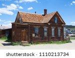 bodie  ca  usa   july 15  2011  ... | Shutterstock . vector #1110213734