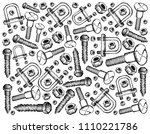 manufacturing and industry ... | Shutterstock . vector #1110221786