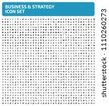 business and strategy vector... | Shutterstock .eps vector #1110260273