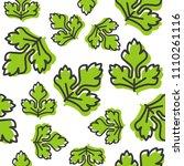 vegetable seamless pattern ... | Shutterstock .eps vector #1110261116
