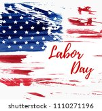 usa labor day holiday... | Shutterstock .eps vector #1110271196