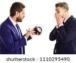 businessman in classic suit... | Shutterstock . vector #1110295490