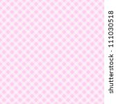A Light Pink Gingham Fabric ...