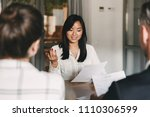 business  career and placement... | Shutterstock . vector #1110306599