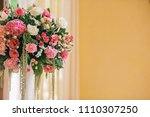 table setting at a luxury... | Shutterstock . vector #1110307250
