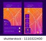 dashboard theme creative... | Shutterstock .eps vector #1110322400