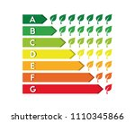 energy efficiency and... | Shutterstock .eps vector #1110345866