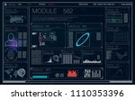 hud ui  app. futuristic user...