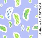 cucumbers halftone seamless ... | Shutterstock . vector #1110374654