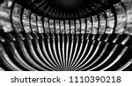 abstract background with metal... | Shutterstock . vector #1110390218