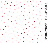 simple seamless pattern with... | Shutterstock .eps vector #1110399080