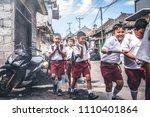 bali  indonesia   may 23  2018  ... | Shutterstock . vector #1110401864