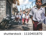 bali  indonesia   may 23  2018  ... | Shutterstock . vector #1110401870