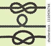 rope vector illustration | Shutterstock .eps vector #1110436766
