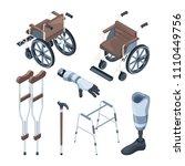 isometric illustrations of... | Shutterstock .eps vector #1110449756