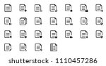 vector file icon. flat file...   Shutterstock .eps vector #1110457286