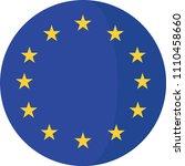 national flag european union | Shutterstock .eps vector #1110458660