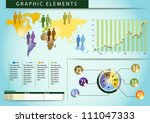 03 graphic elements world... | Shutterstock .eps vector #111047333