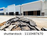 new construction of a retail...   Shutterstock . vector #1110487670