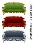 sofa | Shutterstock .eps vector #111051530
