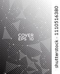 cover page layout. global... | Shutterstock .eps vector #1110516380