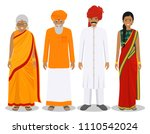 family and social concept.... | Shutterstock .eps vector #1110542024