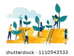vector creative illustration of ... | Shutterstock .eps vector #1110543533