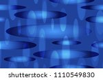 abstract halftone ellipses... | Shutterstock .eps vector #1110549830