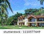 houses with ocean view   Shutterstock . vector #1110577649