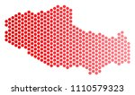 red circle dot tibet chinese... | Shutterstock .eps vector #1110579323
