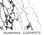 black marble cracks vector...   Shutterstock .eps vector #1110595373