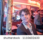 attractive forty something man...   Shutterstock . vector #1110602633