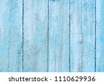 blue wood plank retro background | Shutterstock . vector #1110629936