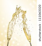 Splashing Champagne Out Of...
