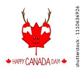 Maple Leaf With Moose Horns....