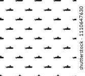 large submarine icon. simple... | Shutterstock .eps vector #1110647630