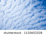 blue sky and cloud beautiful in ... | Shutterstock . vector #1110652328
