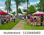 twinsburg  oh   june 9  2018 ... | Shutterstock . vector #1110660683