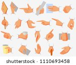 vector illustration of set of... | Shutterstock .eps vector #1110693458