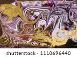 marble abstract acrylic... | Shutterstock . vector #1110696440