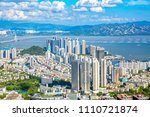 shenzhen nanshan district... | Shutterstock . vector #1110721874