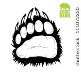 Bear Paw   Vector Illustration