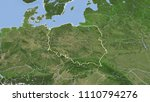 poland and its neighborhood.... | Shutterstock . vector #1110794276