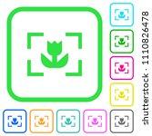 camera macro mode vivid colored ... | Shutterstock .eps vector #1110826478