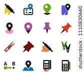 solid vector ixon set  ... | Shutterstock .eps vector #1110830660