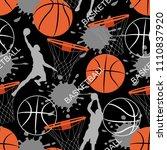 Basketball Game Seamless...