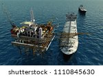 Oil Production Into The Sea...