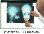 professional with model of... | Shutterstock . vector #1110850283