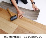 diy and renovation concept  ... | Shutterstock . vector #1110859790