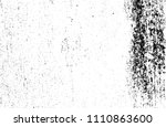 abstract monochrome grunge... | Shutterstock .eps vector #1110863600